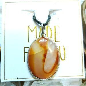 Stunning agate pendant